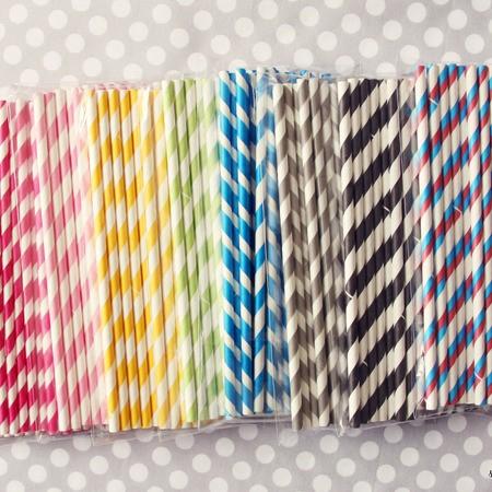 Paper straws!image