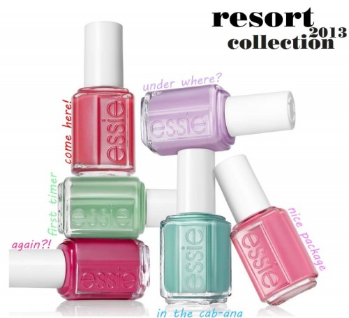 Nail polishes from Essie