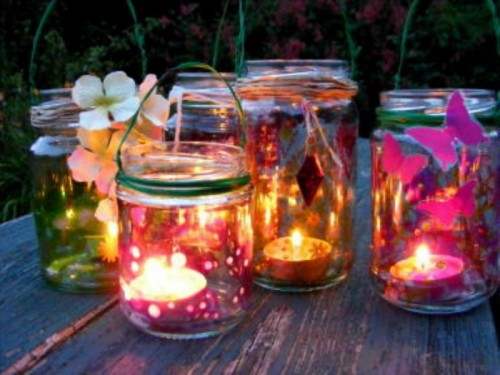 Fairy tea lights