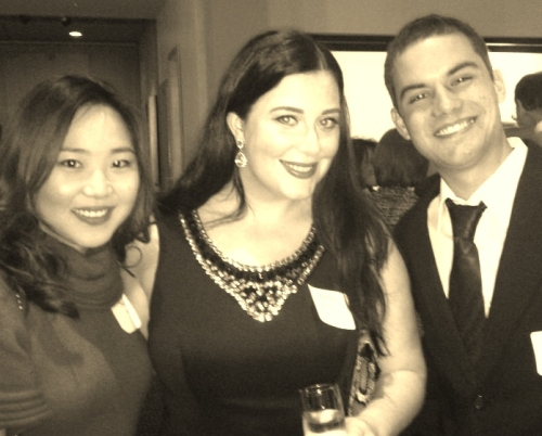 Company Christmas party - this is one of the decent pics!
