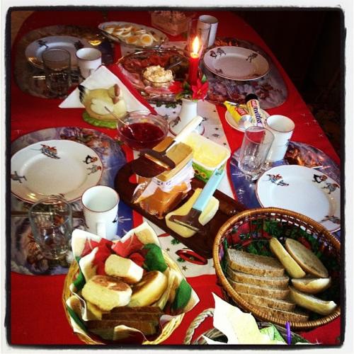 Christmas Day breakfast!